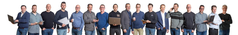 Teamfoto ICT Hollander Techniek