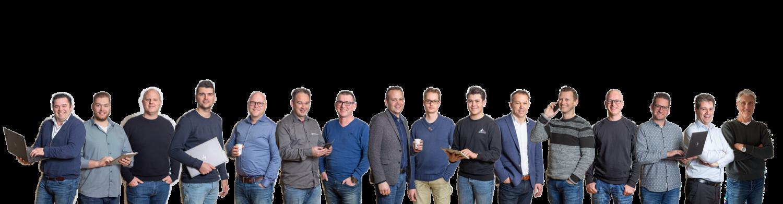 ICT teamfoto   Hollander Techniek